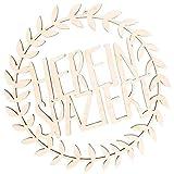 Kleinlaut Holzkranz - Hereinspaziert