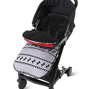 Universal Baby Winterfußsack Für Kinderwagen Sportwagen Babyschale Thermo Fleece Kinder Schlafsack Buggy Winter Draussen Umschlag Kapuze Anti Rutschschutz 0 36 Monate Baby