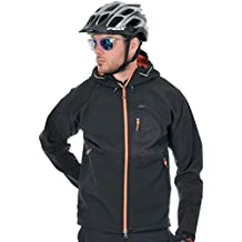 Chaqueta Ktm Factory Team Water-Windproof Softshell Negro-Anaranjado (Xl , Negro)