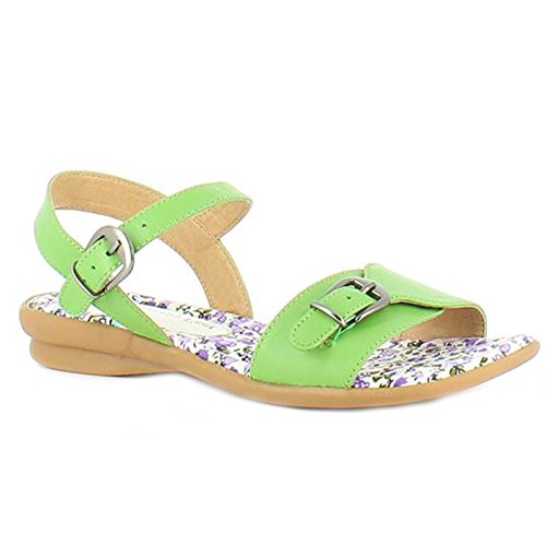 Heavenly Feet , Damen Sandalen Lime