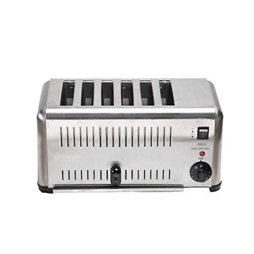 QSJNN Kommerzielle Toaster-Sandwichbrot-Heizmaschine
