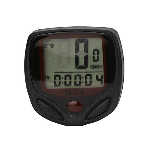 Fahrrad Tachometer Goosun Wasserdicht Fahrradcomputer Kilometerzähler Zyklus LCD Anzeige Digital Fahrradtacho Drahtlos Radcomputer Kabellos Tachometer Erkennt -