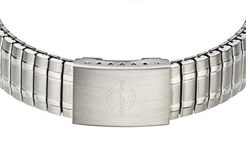 Master Time Funk Quarz Damen Uhr Analog-Digital mit Edelstahl Armband MTLA-10309-22M - 2