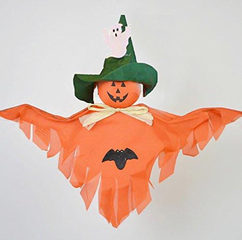 Kicode Halloween Horror Geist Puppen Requisiten Hängend Girlande Dekoration Haus Party Scary Gruselige Anhänger (Halloween Banner Happy Gruseliges)