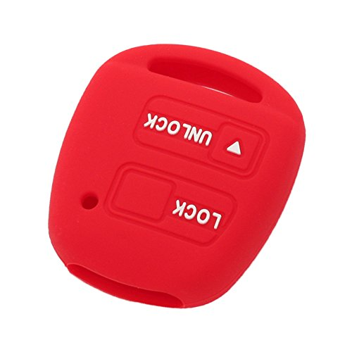 fassport-silicone-cover-skin-jacket-fit-for-toyota-lexus-2-button-remote-key-case-cv2421-red