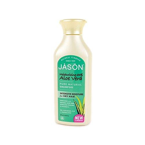 Moisturizing 84% Aloe Vera Shampoo Jason Natural Cosmetics 16 oz Liquid