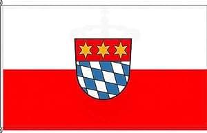 Königsbanner Autoflagge Dingolfing - 30 x 45cm - Flagge und Fahne