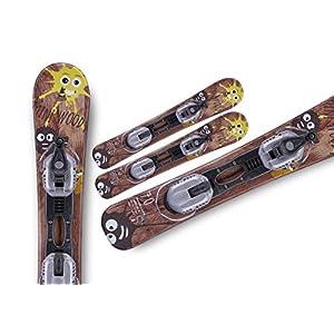 Gaspo Snowblades Mini Woody 70cm Bindung