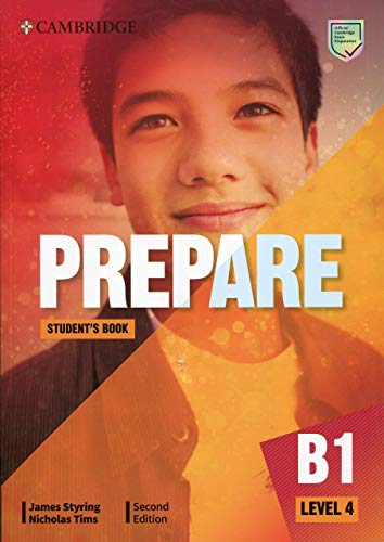Prepare Level 4 Student's Book 2nd Edition (Cambridge English Prepare!)