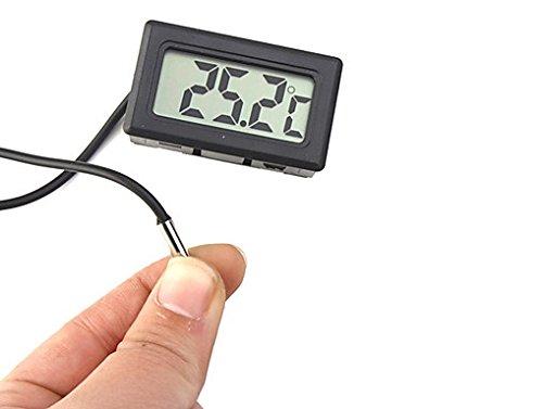 Veka Thermometer mit Außenfühler LCD Kultur Cave Wein Kühlschrank Aquarium