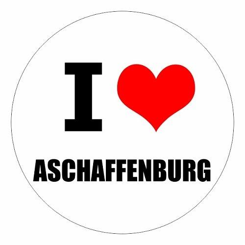 I love Aschaffenburg in zwei Größen erhältlich Aufkleber mehrfarbig JDM Decal Sticker Racing