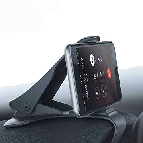 ESSWCA HalterungenCar Phone Holder for Universal Mobile Phone Mini Dashboard GPS Navigation Bracket Support Phone Holder Stand Iron Sheet,Rotate -