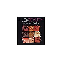 New Huda Beauty Obsessions Eyeshadow Palette - Warm Brown
