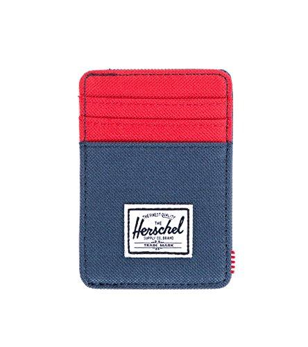 Herschel Supply Co. Men's Raven Card Holder With Money Clip
