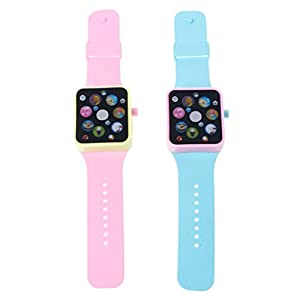 JAGENIE Kinder Smartwatch, Smart Watch Frühe Bildung Musik Lernmaschine Armbanduhr Spielzeug Kinder Kinder Zufällige Farbe