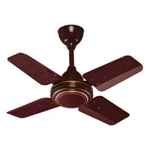 KEI Fluidic 24 Inch High Speed Ceiling Fan (Brown)