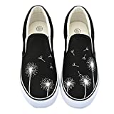 Lavender Doodle Women Shoes Summer Flat Hand-Painted Canvas Shoes Girl Breathable Slip-on Casual Board Shoes Zapatos Mujer c 10
