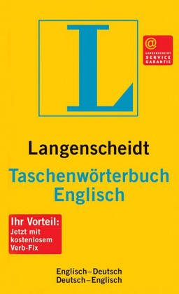 Langenscheidts Taschenwörterbuch, Englisch