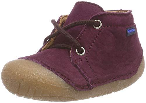 Richter Kinderschuhe Baby Mädchen Richie Sneaker, Violett (Burgundy 7610), 22 EU
