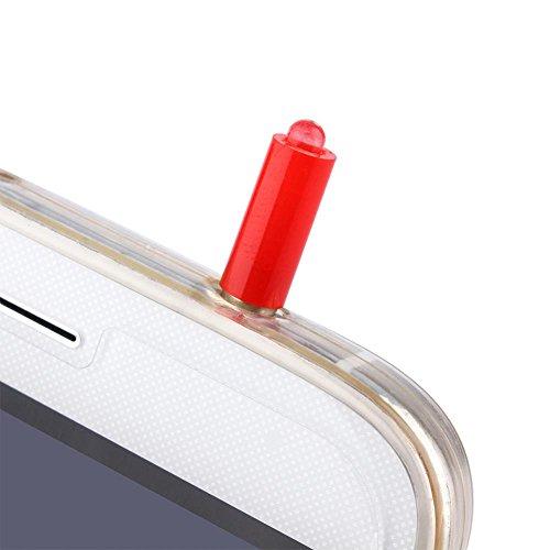 Universal Anti Polvo Plug para iPhone Android TV STB Aire Acondicionado Control Remoto IR Infrarrojos Remotos (1 pcs)