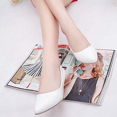 Talloni delle donne Primavera Estate Autunno Inverno Dress Club Scarpe Comfort PU ufficio & carriera casuale tacco grosso OthersBlack Rosa Rosso Bianco Grigio Gray