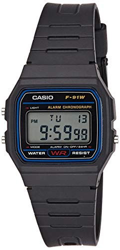 Montre Homme Unisex Casio Collection F-91W-1YER