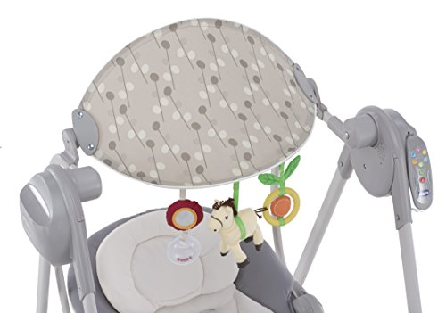 Chicco Polly Hamaca Bebe electrica y plegable plata - 2