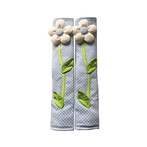GZQ 2 Stück Kühlschrank-Türgriff-Abdeckungen für Küchengeräte, Weihnachtsdekoration, perfekt für Ofen, Mikrowelle, Geschirrspüler, Kühlschrank und Gefrierschrank blau