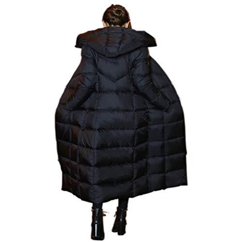 4d077b4dde615a OMUUTR Damen Lange Daunenjacke mit Kapuze Winterjacke Wintermantel Parka  Jacke Outwear Winter Warm Daunenmantel Steppjacke Oberbekleidung