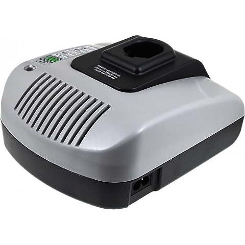 Chargeur pour batterie Powery avec USB pour batterie BLACK & DECKER type FIRESTORM A9262, 7,2V-18V [ Chargeurs pour outil électroportatif ]