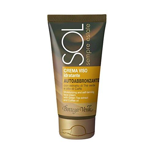 Sol sempre estate - crema viso idratante e autoabbronzante con estratto di the verde e olio di caffe (50 ml)