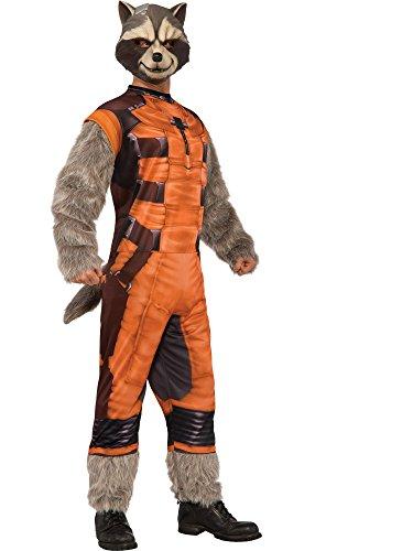 Rocket-Waschbär deluxe Kostüm für Herren