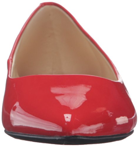 Nine West Onlee Toe Pointy synthétique plat Dynasty Red
