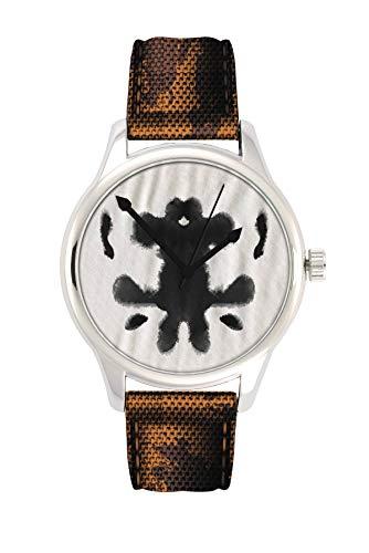 (DC Sammeluhren - Rorschach Watchmen – Die Wächter-Armbanduhr)