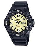 Casio Collection Herren-Armbanduhr MRW-200H-5BVEF, schwarz/Grün