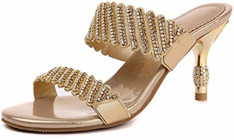 GTVERNH Damen/Women'S/Pumps/HeelsNeuer Stil Coole Schuhe 7Cm High Heels Mädchen Sommer Dünnen Absätzen Wasserö