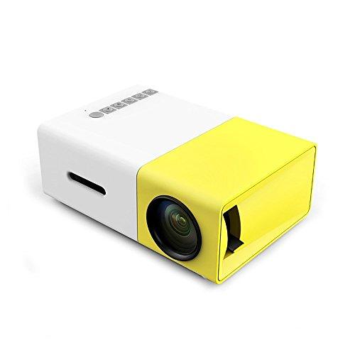 PowerLead Mini Beamer Mini geführtes 1080P volles HD Minikino-Projektor HD Beamer-beweglicher Miniprojektor