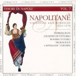 Napolitane, Villanelle Arie Moresche (collection Tesori di Napoli Vol.7)