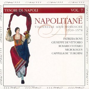Napolitane, Villanelle Arie Moresche (collection Tesori di Napoli Vol.7)