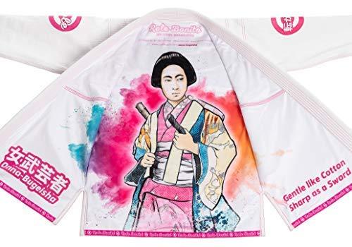 Role Bonito Onna Bugeisha - BJJ Damen Kimono Frauen Gi Jiu-Jitsu Weiblich Anzug (F1)