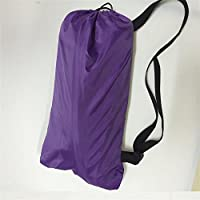 HDWN Piegante portatile staccabile divano letto gonfiabile di spiaggia di divano gonfiabile pigro sacco a pelo , purple , 240*72