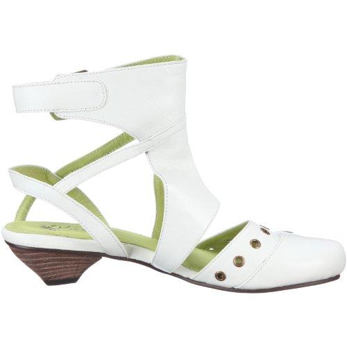 Piazza 820026, Sandales mode femme Blanc-TR-A4-109