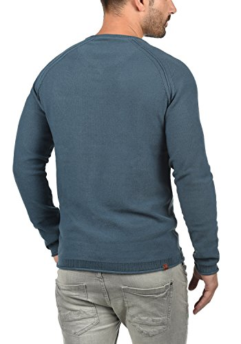 ... BLEND Chuck Herren Strickpullover Feinstrick Pulli mit V-Ausschnitt und  Brusttasche aus 100% Baumwolle ...