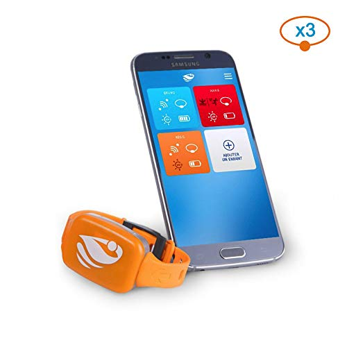 Bracelet de sécurité piscine No stress avec application smartphone Kit 3
