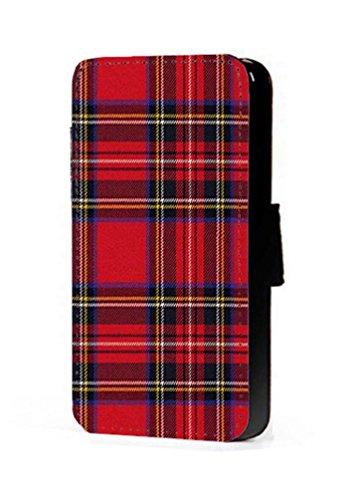 Housse Coque Étui portefeuille à rabat en imitation cuir pour téléphone portable iPhone 4/5C Motif tartan écossais tissage 6S Samsung S6S5S4S3Mini, Cuir synthétique, Samsung Galaxy S6 Edge