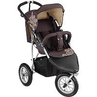 Carrito para niños de la marca Knorr-Baby, con tres ruedas y capota