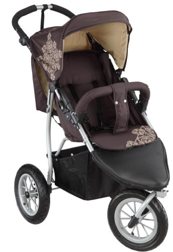 knorr-baby 883960 Luft -Rad- Joggy S chocolate-beige