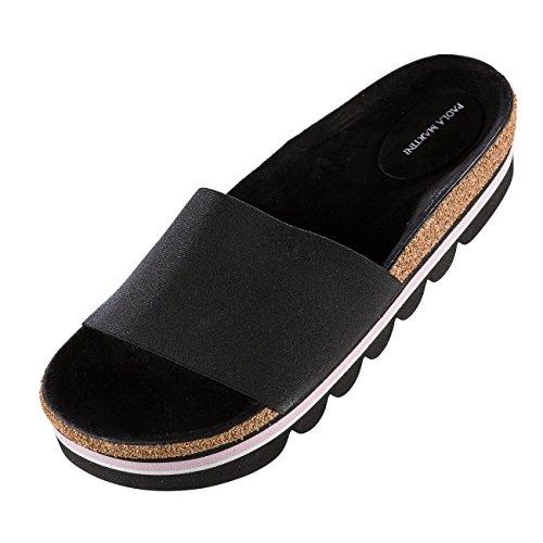 Pantofole Donna Nere Sepang Martini Paola XzSwqHFcWK