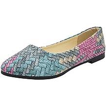 OHQ Zapatos Casuales De Primavera y Verano De Las Mujeres Zapatos Casuales Mujer Zapatos Femeninos Bastante