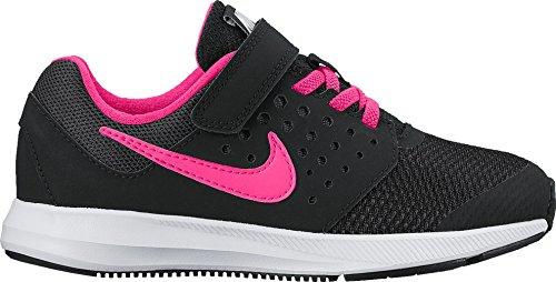 Nike Mädchen 869975-002 Trail Runnins Sneakers Black (Schwarz / Hyper - Rosa-Weiß)